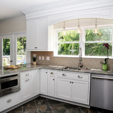 Contemporary Kitchen by Bath, Kitchen and Tile Center