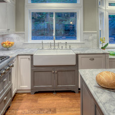 Traditional Kitchen by Treve Johnson Photography