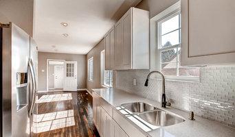 Kitchen remodel in Sloan's Lake neighborhood.