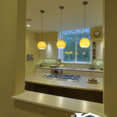 Contemporary Kitchen by Irons Brothers Construction Inc