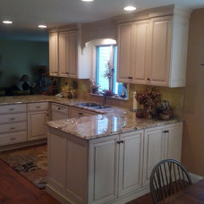 Traditional Kitchen by J.P.Orlando Construction Inc.
