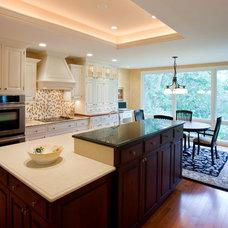 Contemporary Kitchen by JG Development, Inc.