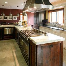 Mediterranean Kitchen by Jo-Ann Capelaci Interior Desgn