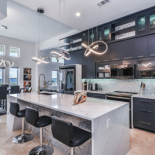 75 Beautiful Gray Galley Kitchen Pictures & Ideas | Houzz on