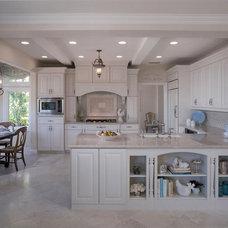 Traditional Kitchen by Julia Caro Interior Design
