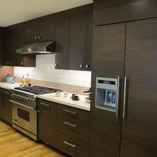 Contemporary Kitchen by Julie Williams Design