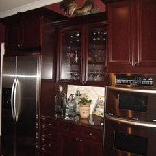 Traditional Kitchen by Karen Parham - KMP Interiors