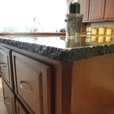 Traditional Kitchen by Katy Tile & Marble