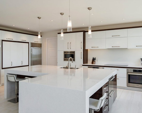 Contemporary Kitchen With White Cabinets top 20 kitchen with white cabinets ideas & designs | houzz