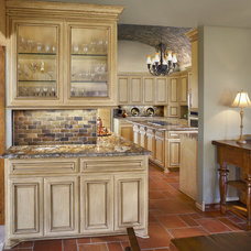 Mediterranean Kitchen by USI Design & Remodeling