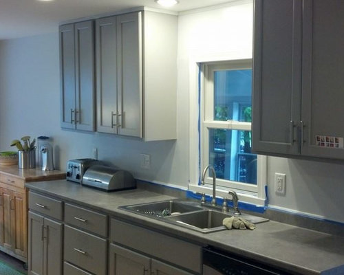 Portland Maine Kitchen Design Ideas Renovations Photos With Composite Countertops