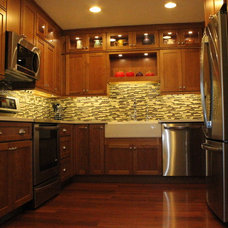 Transitional Kitchen by Cabinet-S-Top