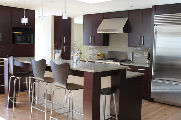 Contemporary Kitchen by Molly Frey Design