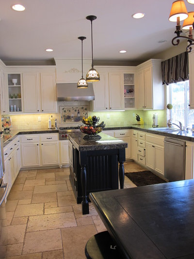 Traditional Kitchen By My Uncommon Slice Of Suburbia