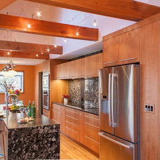Contemporary Kitchen by Dream Kitchens, Nashua NH