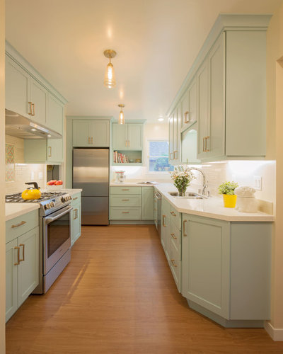 Transitional Kitchen by Kitchens by Francis