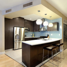 Contemporary Kitchen by KBR Design & Build