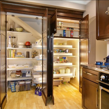 Kitchen Remodel (Recessed - Built In Pantry)