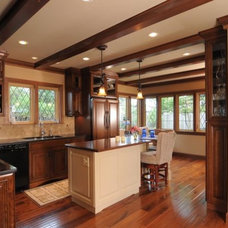 Mediterranean Kitchen by Renewal Remodels and Additions