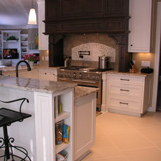 Traditional Kitchen by Schill Architecture LLC