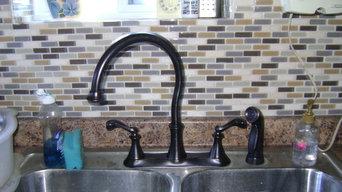Kitchen Remodel, Sink area