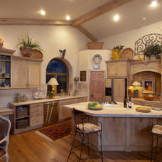 Traditional Kitchen by Solid Rock Custom Homes
