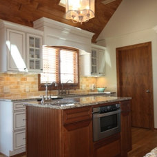 Rustic Kitchen by Starlite Kitchens and Baths
