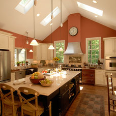 Traditional Kitchen by Steiner Design Interiors