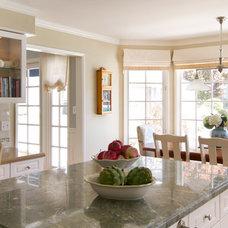 Transitional Kitchen by Talianko Design Group, LLC