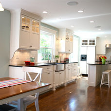 Traditional Kitchen by Tiek Built Homes