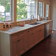 Traditional Kitchen by US Marble & Granite