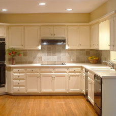 Traditional Kitchen by V.W. MAYER, LLC