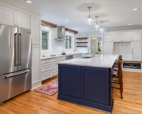 White Kitchen Backsplash Ideas | Houzz