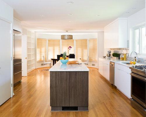Contemporary galley kitchen design ideas remodel for Contemporary galley kitchen ideas