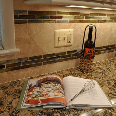 stained glass tile backsplash home design ideas pictures remodel and