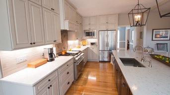 Kitchen Remodel with Custom Light Fixtures