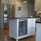 arlington cream white Kitchen Cabinets Home Design ...
