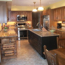Contemporary Kitchen by Cabinet-S-Top