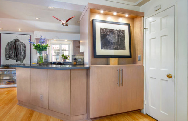 Contemporary Kitchen by Mathis Custom Remodeling