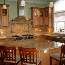 Traditional Kitchen by A-1 PAM Plastering & Remodeling, Inc.