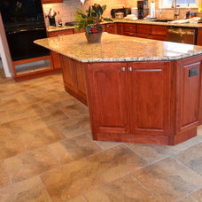 Traditional Kitchen by Remodeling and Painting Experts Inc.