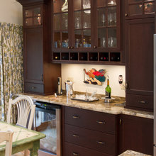 tiered cabinets