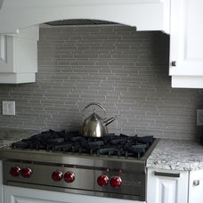 Traditional Kitchen by Keramin Tile