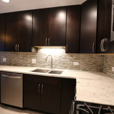 Contemporary Kitchen by A-1 PAM Plastering & Remodeling, Inc.