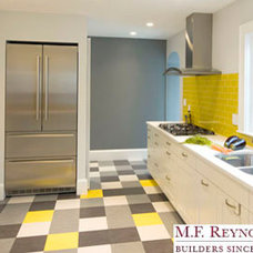Contemporary Kitchen by MF Reynolds Inc