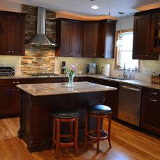 Traditional Kitchen by Designing Richmond Kitchen & Bath