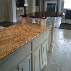 Mediterranean Kitchen by Remodeling by Joseph