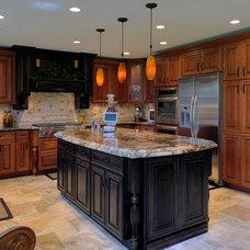 Traditional Kitchen by Diamond Kitchen & Bath