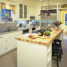 Traditional Kitchen by George Lewis Custom Homes