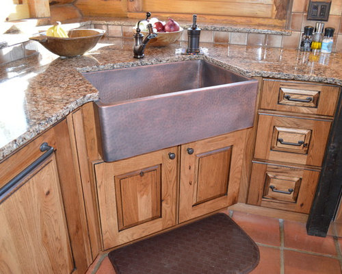 sink cabinets for kitchen rustic kitchen design ideas amp remodel pictures with terra 5275